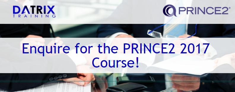 PRINCE2 2017 Update - Datrix Training